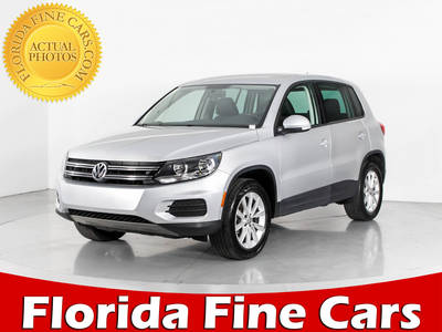 Used VOLKSWAGEN TIGUAN 2014 WEST PALM Se