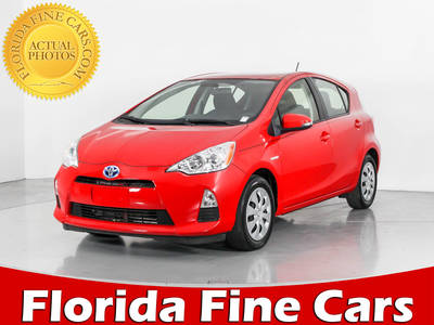 Used TOYOTA PRIUS-C 2014 WEST PALM TWO