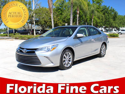 Used TOYOTA CAMRY 2015 MARGATE Xle