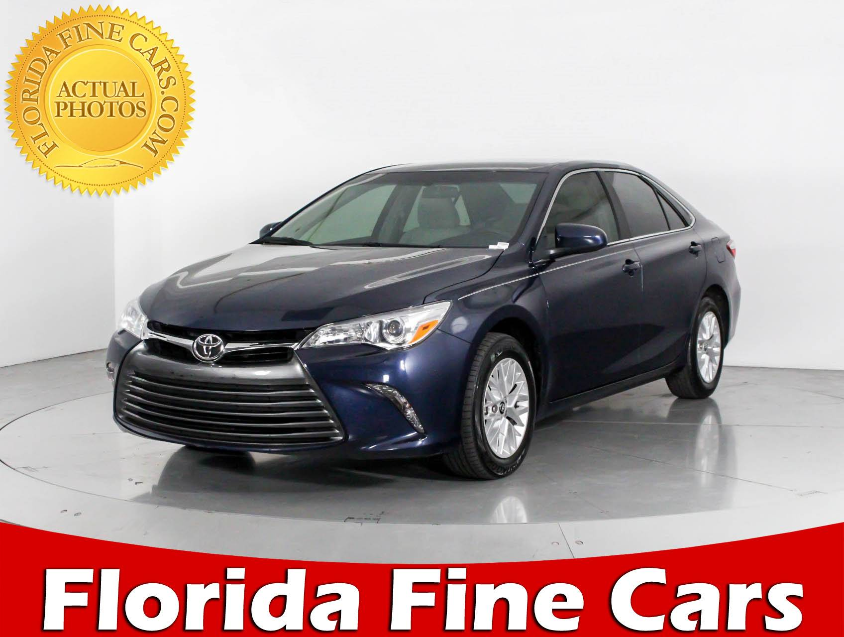 Used 2016 TOYOTA CAMRY Le Sedan for sale in WEST PALM FL