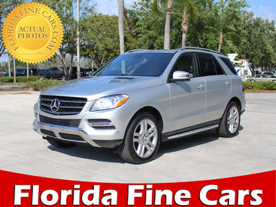 Used MERCEDES-BENZ M-CLASS 2013 MARGATE ML350