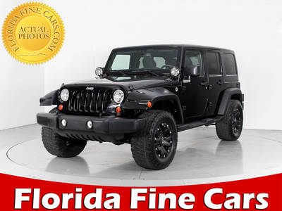Used JEEP WRANGLER-UNLIMITED 2013 WEST PALM SPORT