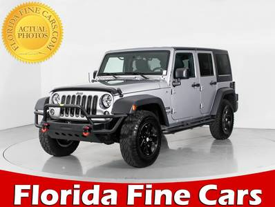 Used JEEP WRANGLER-UNLIMITED 2015 WEST PALM SPORT