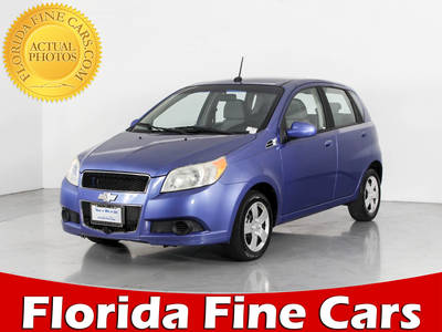 Used CHEVROLET AVEO5 2009 WEST PALM LS