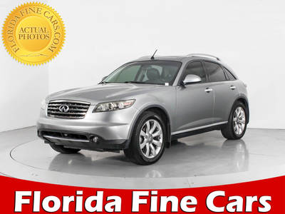 Used INFINITI FX35 2007 WEST PALM BASE