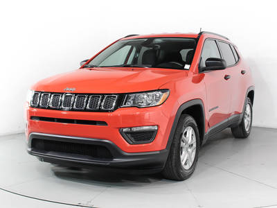 Used JEEP COMPASS 2017 WEST PALM SPORT