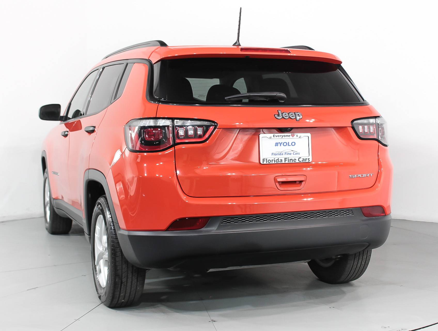 used 2017 jeep compass sport suv for sale in west palm fl 92494 florida fine cars. Black Bedroom Furniture Sets. Home Design Ideas