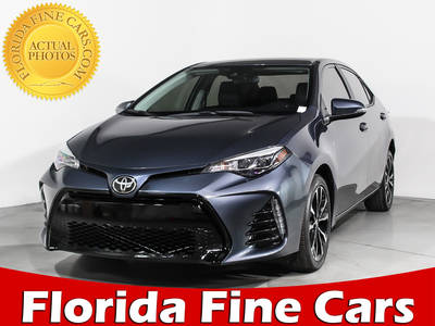 Used TOYOTA COROLLA 2017 WEST PALM Se