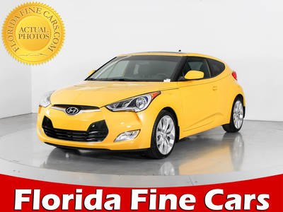 Used HYUNDAI VELOSTER 2015 WEST PALM Re:flex