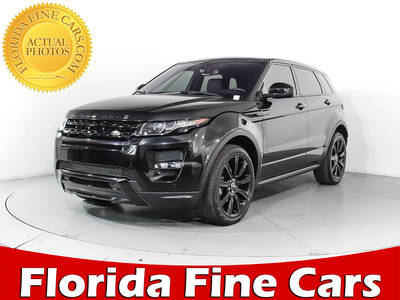 Used LAND-ROVER RANGE-ROVER-EVOQUE 2015 HOLLYWOOD DYNAMIC PREMIUM