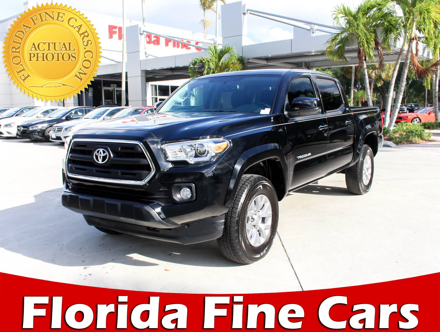 Used 2017 TOYOTA TA A Sr5 Truck for sale in WEST PALM FL