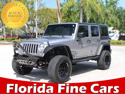 Used JEEP WRANGLER-UNLIMITED 2016 WEST PALM SPORT