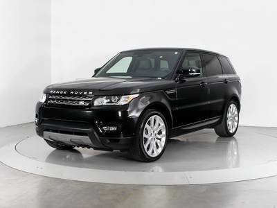 Used LAND-ROVER RANGE-ROVER-SPORT 2015 MIAMI Supercharged Hse