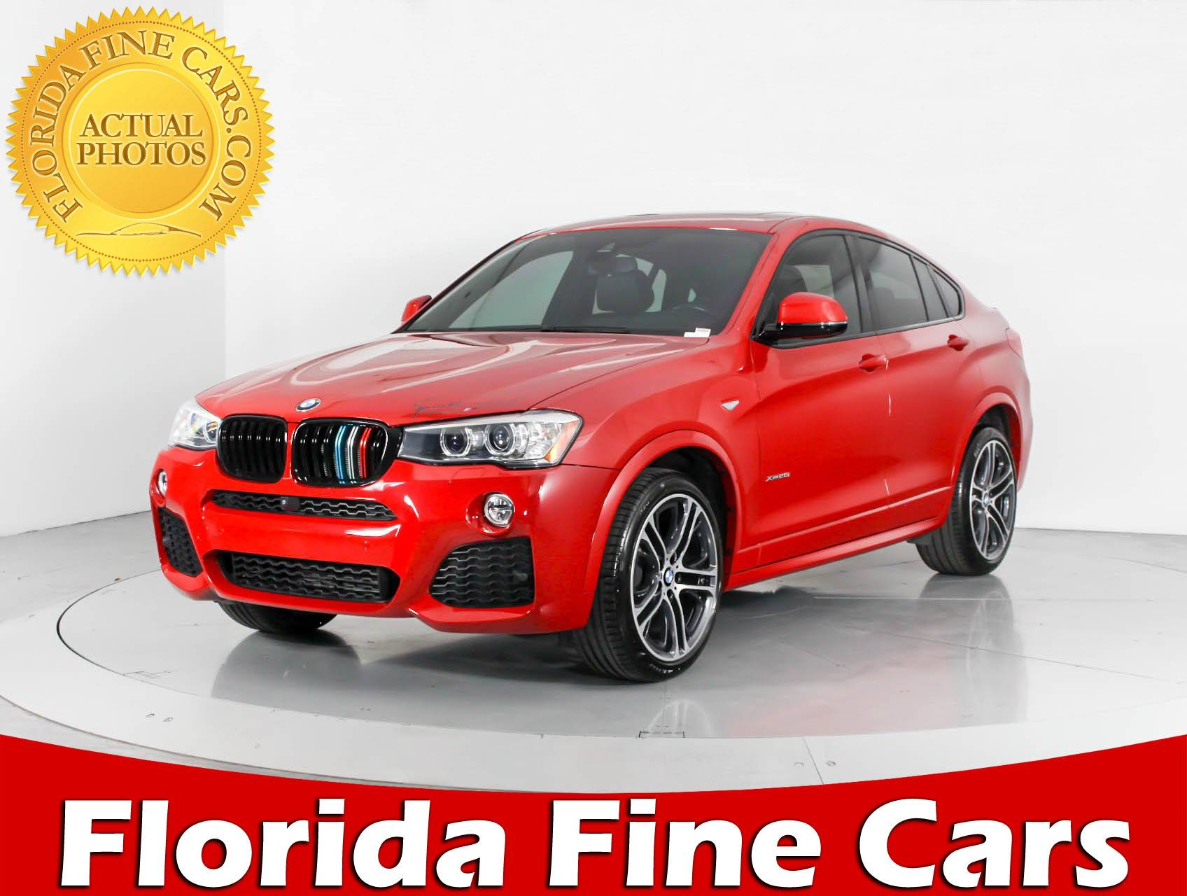 used 2016 bmw x4 xdrive28i m sport suv for sale in west palm fl 92565 florida fine cars. Black Bedroom Furniture Sets. Home Design Ideas