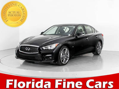 Used INFINITI Q50s 2015 WEST PALM Sport