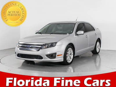Used FORD FUSION 2012 WEST PALM SEL