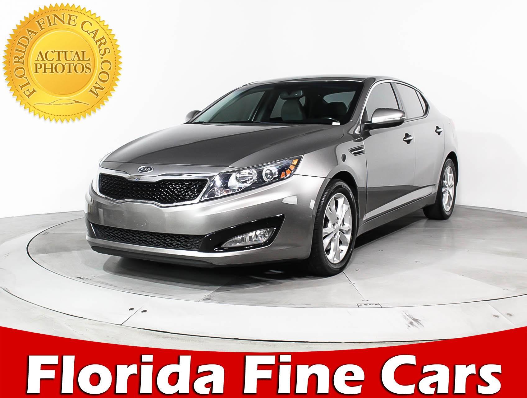 Used 2012 KIA OPTIMA Ex Sedan For Sale In HOLLYWOOD, FL | 92649 | Florida  Fine Cars