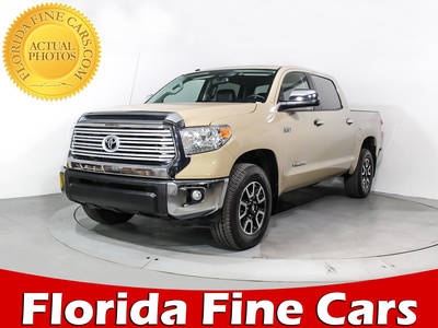 Used TOYOTA TUNDRA 2017 MIAMI Limited Trd Off-Road