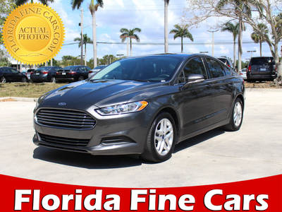 Used FORD FUSION 2015 MARGATE SE
