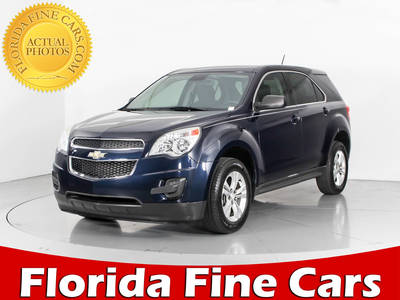 Used CHEVROLET EQUINOX 2015 WEST PALM LS