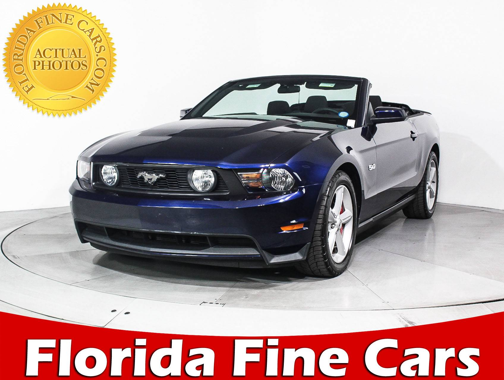 Used 2011 Ford Mustang Gt Convertible For Sale In Miami