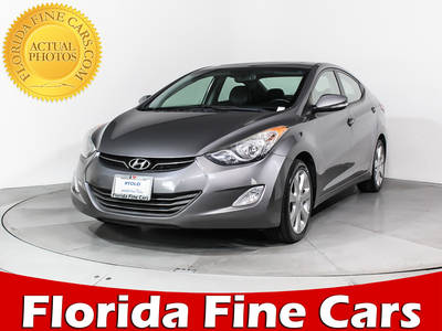 Used HYUNDAI ELANTRA 2012 HOLLYWOOD Limited