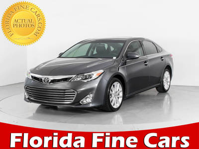 Used TOYOTA AVALON 2013 HOLLYWOOD Xle Premium
