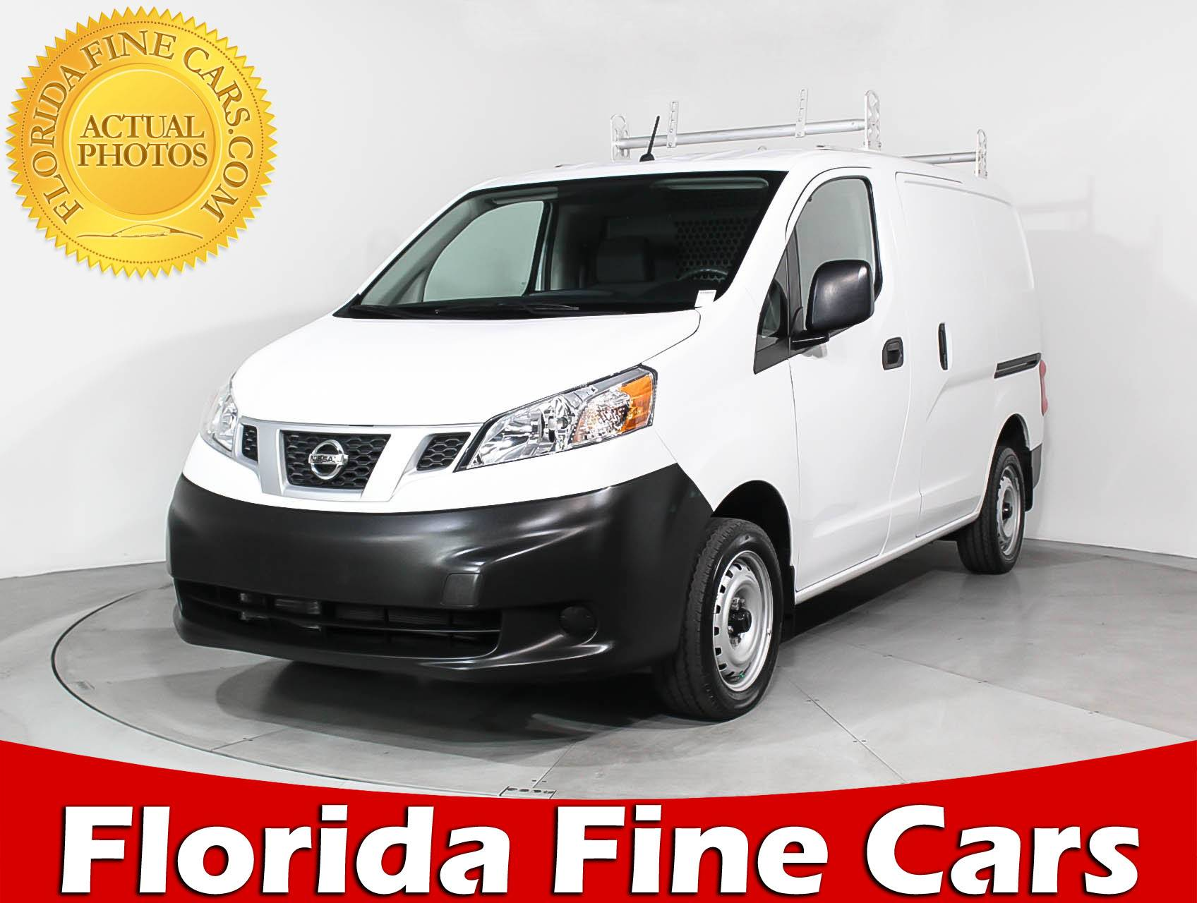 Used 2017 NISSAN NV200 SUV for sale in MIAMI FL