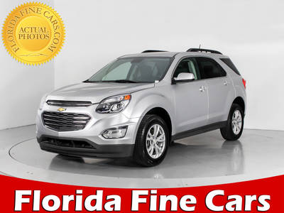 Used CHEVROLET EQUINOX 2017 WEST PALM LT