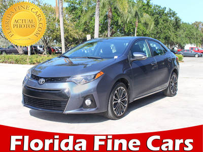 Used TOYOTA COROLLA 2015 MARGATE S-Plus