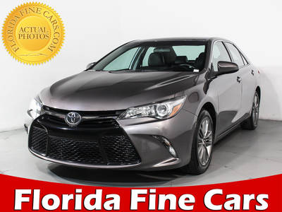 Used TOYOTA CAMRY 2016 HOLLYWOOD SE