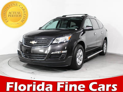 Used CHEVROLET TRAVERSE 2017 MIAMI LS