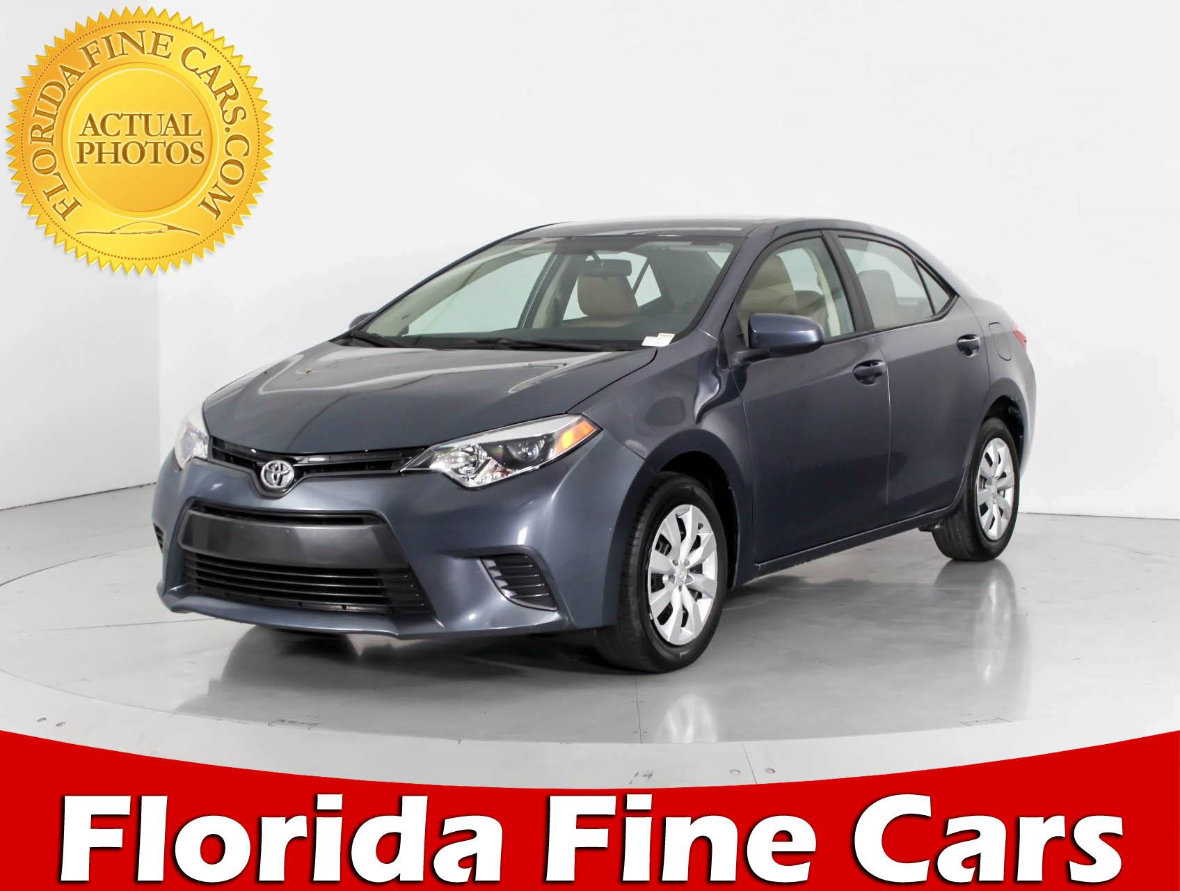 Used 2016 TOYOTA Corolla LE SUV for sale in WEST PALM FL