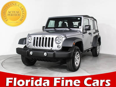 Used JEEP WRANGLER-UNLIMITED 2015 MIAMI SPORT