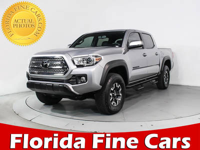 Used TOYOTA TACOMA 2017 MIAMI Trd Off Road V6 4x4