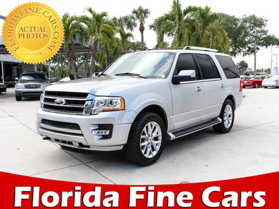 Used FORD EXPEDITION 2017 WEST PALM LIMITED