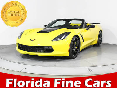 Used CHEVROLET CORVETTE 2016 MIAMI STINGRAY Z51 3LT