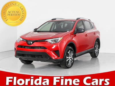 Used TOYOTA RAV4 2017 WEST PALM LE