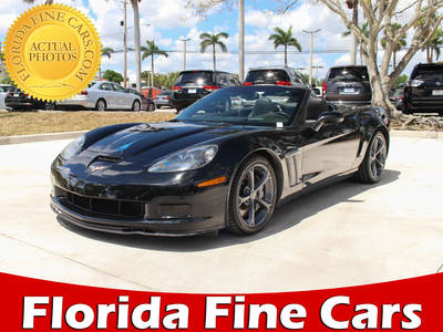 Used CHEVROLET CORVETTE 2011 MARGATE GRAND SPORT 3LT