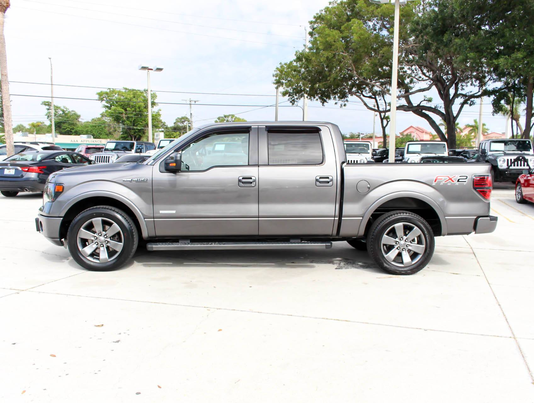 Used 2014 Ford F 150 Fx2 Truck For Sale In West Palm Fl 92942 Florida Fine Cars