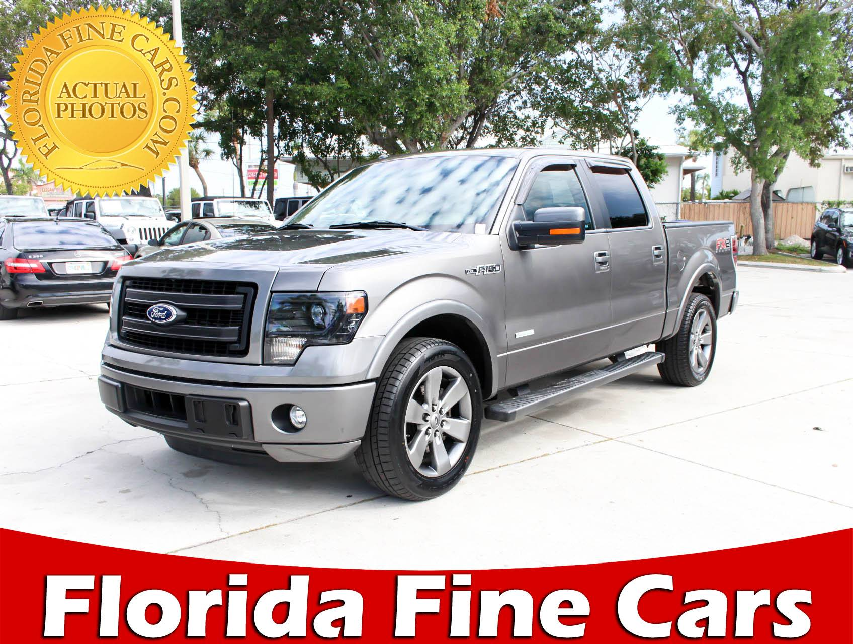 Used 2014 FORD F 150 Fx2 Truck for sale in WEST PALM FL