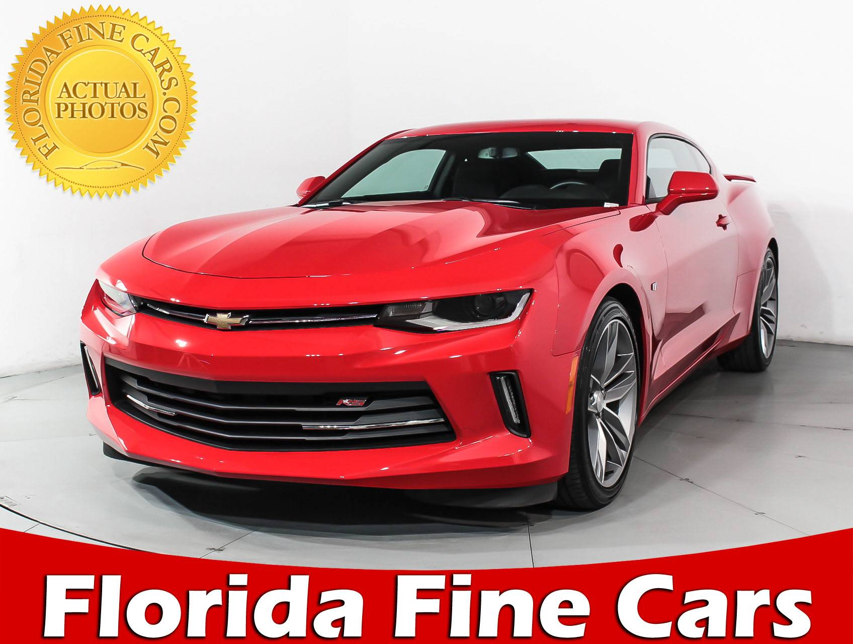 Used 2018 CHEVROLET CAMARO 1lt Rs Package Coupe for sale in MARGATE ...