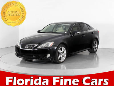 Used LEXUS IS-250 2010 WEST PALM