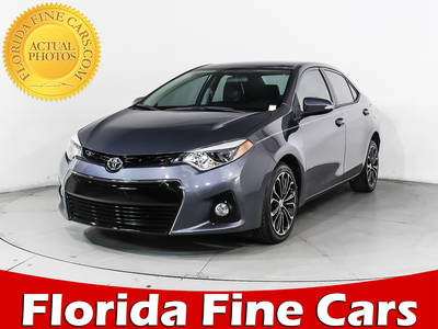 Used TOYOTA COROLLA 2014 HOLLYWOOD S Plus