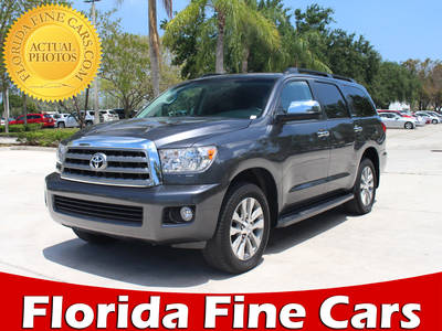 Used TOYOTA SEQUOIA 2016 MARGATE LIMITED
