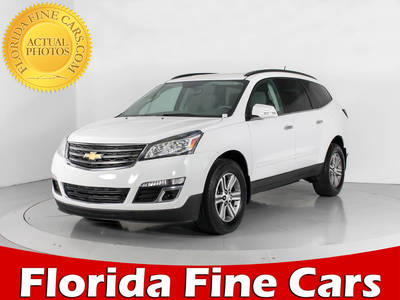 Used CHEVROLET TRAVERSE 2016 WEST PALM 1LT