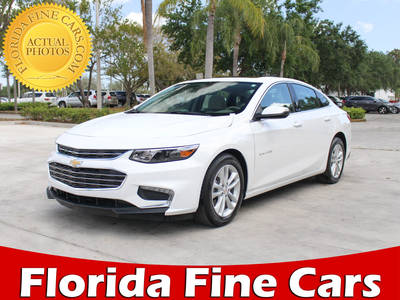 Used CHEVROLET MALIBU 2018 MARGATE 2lt