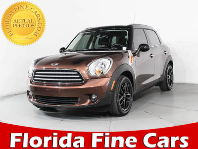 Used MINI COOPER-COUNTRYMAN 2013 MIAMI