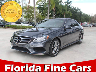 Used MERCEDES-BENZ E-CLASS 2016 WEST PALM E350 Sport