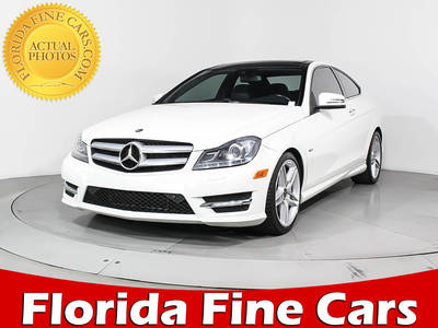 Used MERCEDES-BENZ C-CLASS 2012 HOLLYWOOD C350 4matic Sport